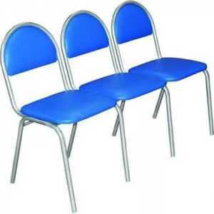 Секции офисные на основе стульев «Стандарт»