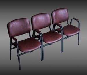 """Секции офисные на основе стульев """"Изо"""""""
